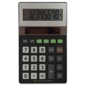 Sharp Elr277 Recycled Handheld Calculator - 8 Character[s] - Lcd - Solar Powered - 1.3cm X 6.9cm X 11cm - Black, Silver