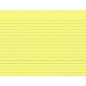 School Smart Sulphite Long Way Ruled Paper Without Margin, 26cm x 20cm , White, Pack of 500