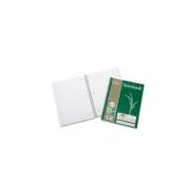 Skilcraft Biobased Notebk,3HP,College Rld,28cm x 22cm ,100 Shts,3/PK,WE 6002024