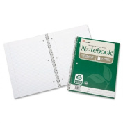 Skilcraft Spiral Notebook,1-Subj, 3HP,College Ruled, 80 Shts, 3/PK, WE 6002028