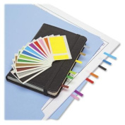 Redi-tag 20205 Small Page Flag - Repositionable - 2.5cm X 0.5cm - Assorted - 4pad