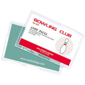 Royal Sovereign RF05CRDT0100 5 Mil Thermal Laminating Pouch Film, 5.1cm x 7.6cm , Pack of 200