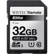 Wintec Filemate Elite 32GB SDHC UHS-1 Memory Card Class 10