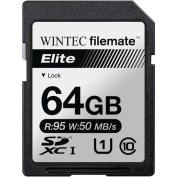 Wintec Filemate Elite 64GB SDHC UHS-1 Memory Card Class 10