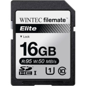 Wintec Filemate Elite 16GB SDHC UHS-1 Memory Card Class 10