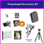 Essential Accessory Package For Canon PowerShot SX210 SD700 IS SD870 IS SD950 IS SD900 Package Includes 4GB High Speed E
