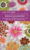 Posh 2015-2016 Monthly & Weekly Planning Calendar  : August 2015-December 2016