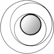Safavieh Inner Circle Mirror, Black