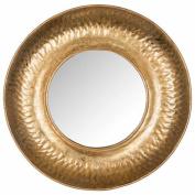 Safavieh Perugia Etruscan Mirror, Gold Foil