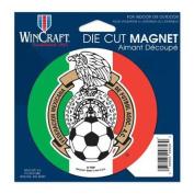 Mexican National Soccer Official SOCCER 11cm x 15cm Car Magnet