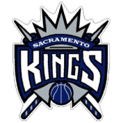 Sacramento Kings Official NBA 6.4cm wide Acrylic Car Magnet Kings by Wincraft