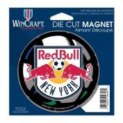 Red Bull NY Official MLS 11cm x 15cm Car Magnet
