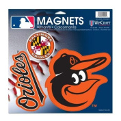 Baltimore Orioles Official 28cm x 28cm Car Magnet by Wincraft 18737014