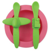 Oogaa Baby Mealtime Set in Pink