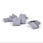 Fred and Friends Letter Pressed Numbers Cookie Cutters/Stampers