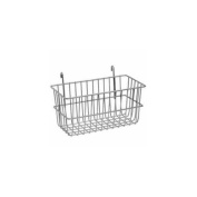 Lavi Industries 809328-CL Grid Wall Small Basket, Chrome