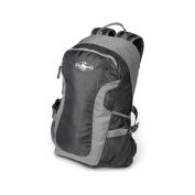 Stansport Odyssey Day Pack - 17inx11inx5in Black/Grey