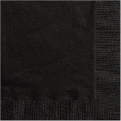 Black Luncheon Napkins, 20pk