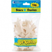 Woodsies Shapes 130/Pkg-Stars