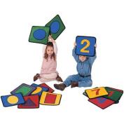 Carpets for Kids Carpet Kits Shape / Number Block Carpet Squares