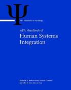APA Handbook of Human Systems Integration