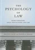 The Psychology of Law