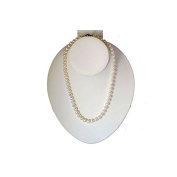 """White Freshwater Cultured a Quality Pearl Necklace (6.5-7.0mm), 20"""""""