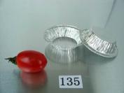 7.1cm Mini pie pan30ml Foil Utility Cup pie pan tart pan 125/PK