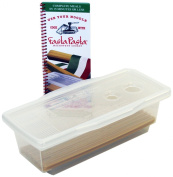 Microwave Pasta Cooker- The Original Fasta Pasta with Spiral Cookbook- No Mess, Sticking or Waitng For Boil