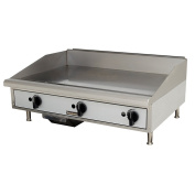 New Toastmaster 90cm Gas Griddle Commercial Iron Flat Top 3 Burner Manual 90cm