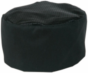 Mercer Culinary M60070BK Millennia Bakers Skull Cap, Black
