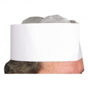 Winco DCH-3 Disposable Chef's Hat, 7.6cm