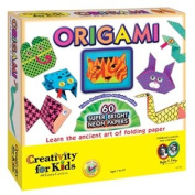Deluxe Origami Kit w/ Stickers - Fun Arts and Crafts for kids - great for beginners!