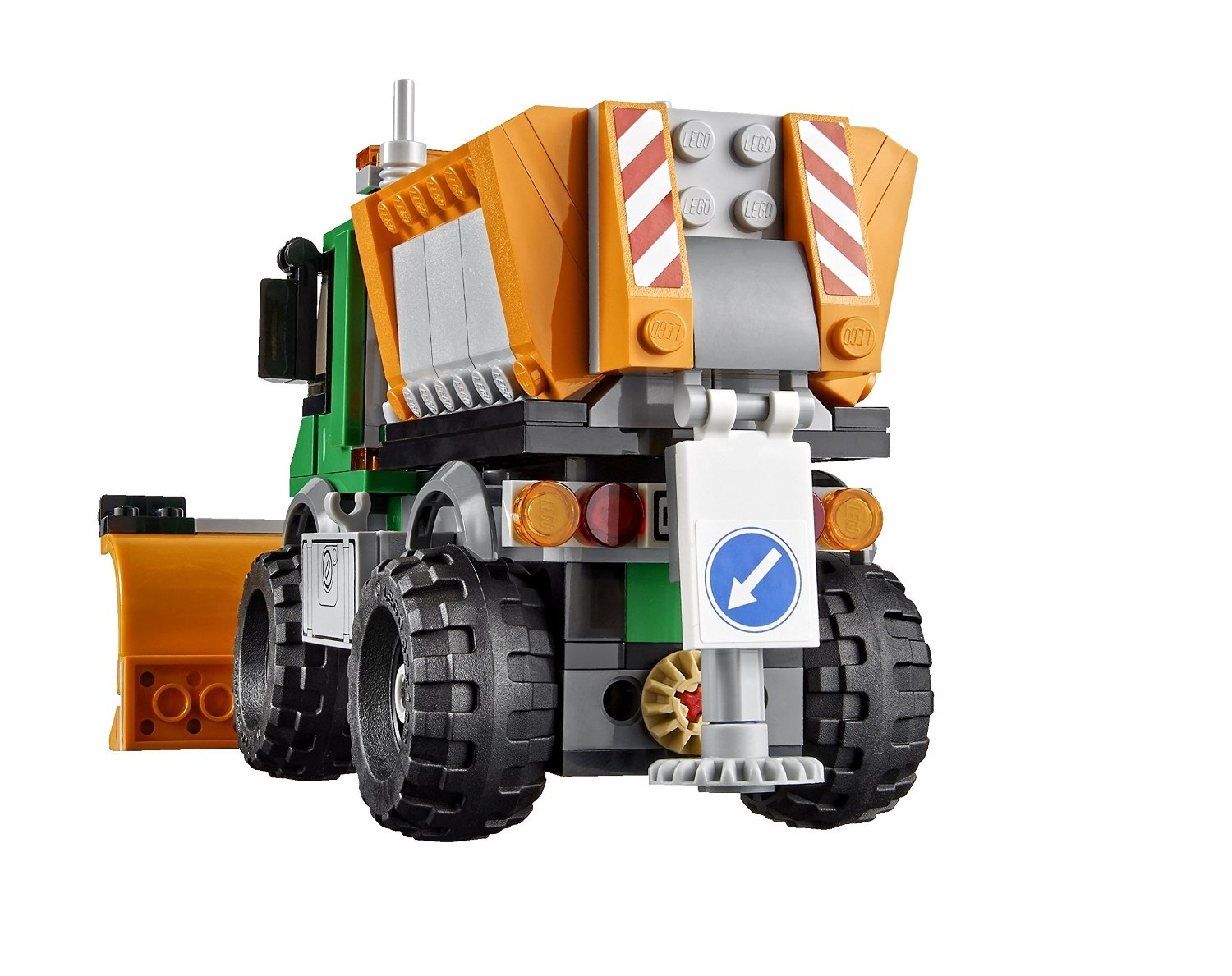 Great Vehicles Lego City Snowploughs Truck WD2E9IHY