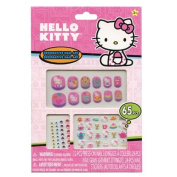 Hello Kitty 65 Piece Decorative Nail Art Kit