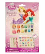 Disney Princess 65 Piece Decorative Nail Art Kit