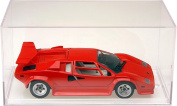 4 Clear Acrylic Display Cases (With No Bevelled Edge) For 1:32 Scale Cars - 20cm x 9.7cm x 9.8cm