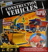 Craft Construction Vehicles You Build and Paint 'Em