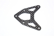 Axial Yeti XL Monster Buggy Upgrade Parts Graphite Front Upper Plate - 1Pc Black