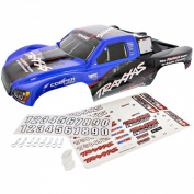 Traxxas Slash 2WD On-Board Audio * BLUE & BLACK BODY, DECALS, CLIPS & WASHERS *