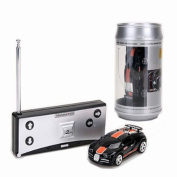 Mini 1:58 Coke Can RC Radio Remote Control Race Racing Car Toy Vehicles Gift XD by Abbest