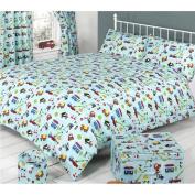 Mucky Fingers Childrens Traffic Duvet Cover Bedding Set (Single)