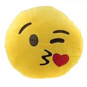 Bestpriceam (TM) Emoji Smiley Emoticon Cushion Pillow Stuffed Plush Soft Toy for Car Home Office