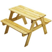 Little Colorado Little Colorado Child's Sunroom Picnic Table, Unfinished, Wood