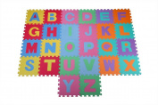 Homegear 26 Piece Jigsaw EVA Foam Tiles Alphabet Kids Play Mat