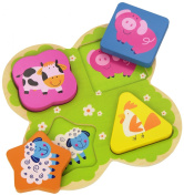 Andreu Toys Lace Forms - Farm Animals