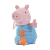 George Pig Blue Chime Rattle