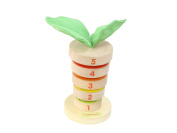 Masterkidz Wooden Stacking Carrot