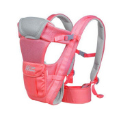 BabyBjorn Polyester Baby Carrier Child Baby Holding Belt Breathe Freely Rose Red