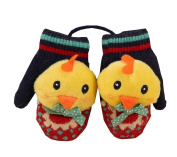 Durable Lovely Warm Gloves Useful Cute Winter Baby Mittens 12*6CM Multicolor